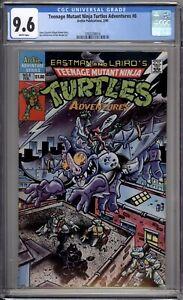 Teenage Mutant Ninja Turtles Adventures 8 CGC Graded 9.6 NM+ Archie 1990