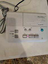 PhoneMate 8410 Voice Operated Telephone Answering Machine Rare Vintage