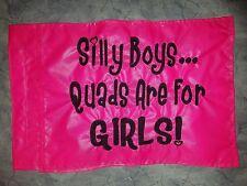 Custom SILLY BOYS Flag for ATV UTV Bike Jeep Dune Safety Flag Whip Pole