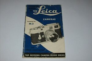 VINTAGE GUIDE FOR THE LEICA M3 CAMERA AND ACCESSORIES -FREE SHIPPING