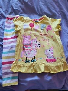 Peppa Pig Top And Leggings outfit - birthday - party