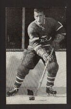 Claude Provost Vintage Montreal Canadiens Hockey Postcard