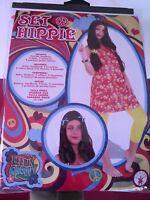 Déguisement de FILLE HIPPIE - TAILLE  7/12 ANS - NEUF