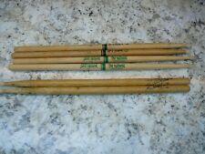 (6) 3-matched sets,ProMark,Zildjian Drum Sticks. 5A, 5B, 2B Shira Kashi Oak used