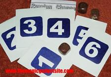 Russian Chance Prediction --nice wood dice, handy numbered envelopes        TMGS