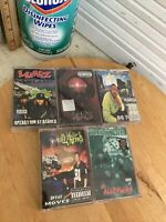 Lot Of 6 Early 90's East Oakland Rap Tapes Delinquents Luniz Ant Banks E.S.O.