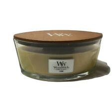 "Wood Wick 16oz Candle Crackles As It Burns ""Fern"" Scented"