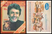 1979 Philippines TV TIMES MAGAZINE Bill Bixby #34