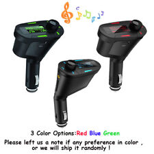 Car Kit USB Charger Car MP3 Player Wireless FM Transmitter USB Handsfree Aux LCD
