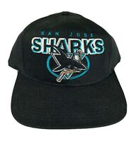 Vintage San Jose Sharks Hat Sports Specialties Snapback Cap NHL 90s Hockey