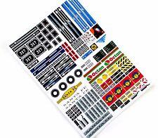 CUSTOM STICKERS for MODELS, TRAINS, Lego 10205 B&W, Lego 2126 4560 4561 4533 ETC