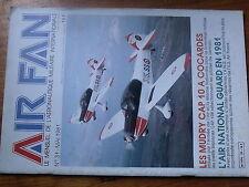 $$x Revue Air Fan N°31 Mudry Cap 10 Cocardes  Dewoitine 520 Luftwaffe  WU16