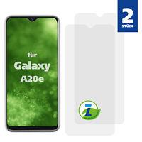 2x Panzerfolie für Samsung Galaxy A20e Displayschutzfolie Folie Panzer Glas klar