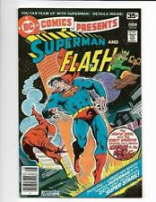 DC Comics Presents #1 1978 Superman and Flash FREE SHIP