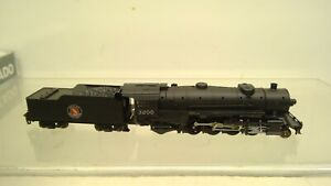 Kato N scale 126-0102 Heavy Mikado Locomotive-Great Northern #3200  -NEW (N21)