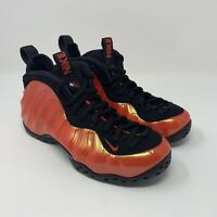 Nike Men's Air Foamposite One Habanero Red Black Basketball Size 7.5 314996-603