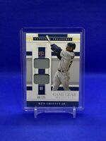 2020 National Treasures Game Gear Dual Materials Holo Gold #1 Ken Griffey Jr /25