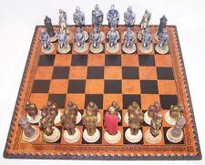 Jeu d'échecs complet Chevaliers médiévaux