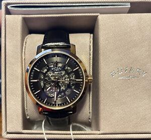 Rotary GS05354-04 Greenwich Automatic Wristwatch Men's Watch NWT
