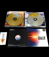 WILD ARMS 2ND IGNITION Sony Playstation PSX Play Station PS1 JAPANESE