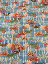 Kona Bay Oriental Lotus Flower 100 Cotton Quilting Craft Fabric Gold Metallic