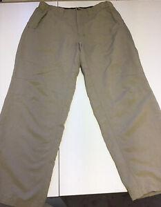 Orvis Trout Run Mens Pants Size Medium Tan Nylon Excellent Condition