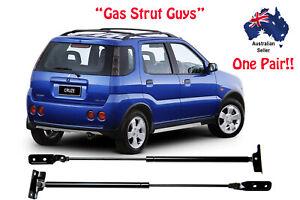 Suzuki Ignis Hatch Tailgate gas struts New PAIR L & R 2001 to 2008