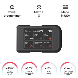 Mazda 3 tuning chip box power programmer performance race tuner OBD2