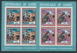 Guinea,1987,Olympic,MS,compl,MNH