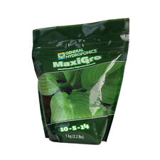General Hydroponics Maxi Grow 1kg Nutrient Power for Indoor Outdoor Plant Growth