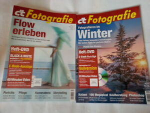 ct Fotografie inkl.DVD Nr.1/2021 Fotografieren im Winter +Nr.2/2021 Flow erleben