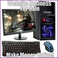Fully Stocked COMPUTER ACCESSORIES Website Business|FREE Domain|Hosting|Traffic