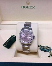 Rolex Women's Stainless Steel Strap Adult Wristwatches