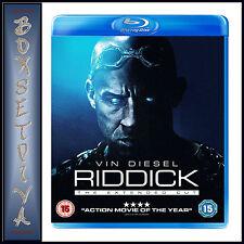 RIDDICK - Vin Diesel & Karl Urban ***BRAND NEW  BLU-RAY ***