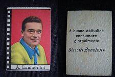 ***FIGURINA CICLISMO NANNINA/BOVOLONE*** ANNI '50 - A. LAMBERTINI