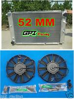 52MM ALUMINUM RADIATOR & fan FORD MUSTANG 97-04 98 99 00 01 02 03 04 MT V8 4.6