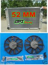 52 MM ALUMINUM RADIATOR &fan FORD MUSTANG 97-04 98 99 00 01 02 03 04 MT V8 4.6