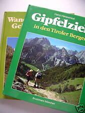 2 Bücher Gipfelziele Tiroler Berge Wanderungen Tirol