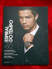 Cristiano Ronaldo Espiral Do Tempo Autumn 2012 Portugal Oversize Magazine NEW