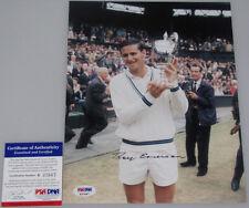 Roy Emerson Hand Signed 8'x10' Photo + Psa Dna Coa K37667