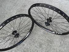"""Halo SAS Disc Wheels Wheelset (PAIR) 8 9 10 speed (BLACK) 26"""" Mountain Bike NEW"""