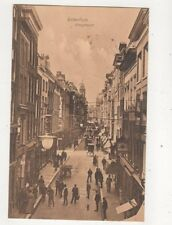 Rotterdam Hoogstraat Netherlands Vintage Postcard Weenenk Snel 404b