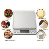 Bilancia da Cucina Elettronica Bilancia Digitale da Cucina Precisione 3Kg/0.1g A