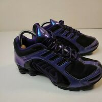 Nike Womens Shox Navina - 356918 055 - Black / Iridescent Purple - Size: 7.5