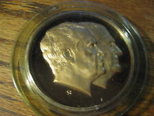 Richard Nixon Inaugurated 1973 Second Term Medal by Franklin Mint    Lot # T FMB