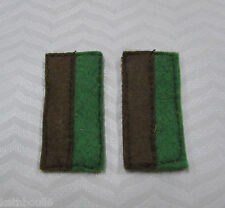 WW1 55th AIF Battalian color patchs=one pair