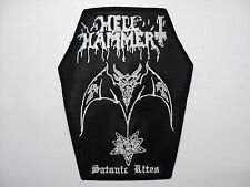HELLHAMMER  COFFIN     EMBROIDERED PATCH