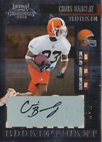 CHRIS BARCLAY RC 2006 PLAYOFF CONTENDERS ROOKIE TICKET #175 AUTO FB3983