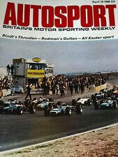 AUTOSPORT 19th APRILE 1968 * LE MANS TEST giorno *