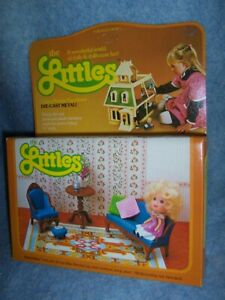 1980 The Littles Dollhouse – Hedy doll and Living Room Furniture Set